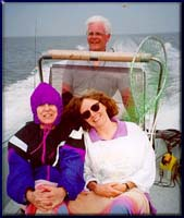 Don and family on the water